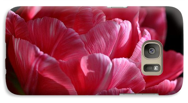 Galaxy Case featuring the photograph Tulipe by Sylvie Leandre