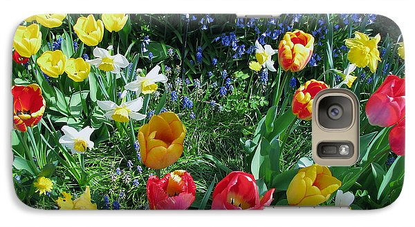 Galaxy Case featuring the photograph Tulips Dancing by Rory Sagner