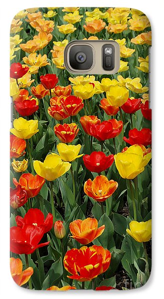 Galaxy Case featuring the photograph Tulips by Eva Kaufman
