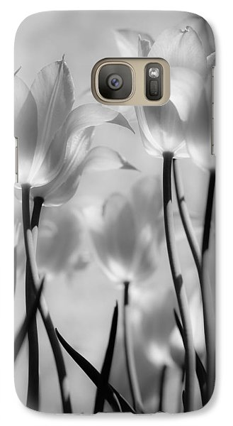 Galaxy Case featuring the photograph Tulips Glow by Michelle Joseph-Long