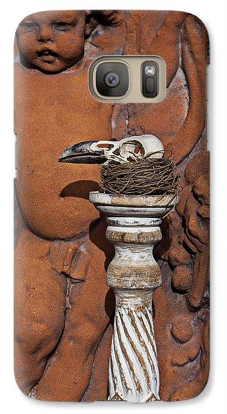 Turkey Vulture Skull Galaxy S7 Case