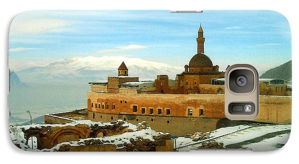 Galaxy Case featuring the photograph Turkish Fortress by Lou Ann Bagnall