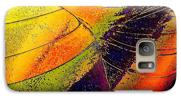 Galaxy Case featuring the photograph Turning Purple  by David Pantuso