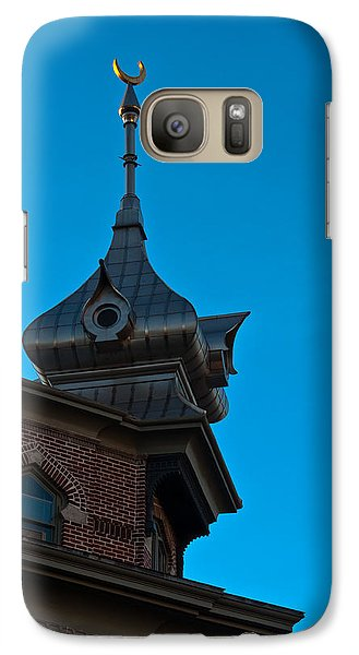 Galaxy Case featuring the photograph Turret At Tampa Bay Hotel by Ed Gleichman