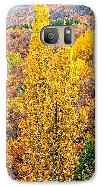 Galaxy Case featuring the photograph Tuscany Landscape  by Luciano Mortula