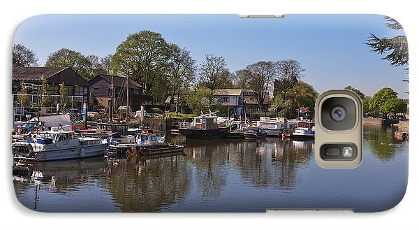 Galaxy Case featuring the photograph Twickenham Marina by Maj Seda