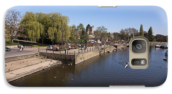 Galaxy Case featuring the photograph Twickenham On Thames by Maj Seda