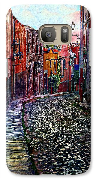 Galaxy Case featuring the photograph Twilight In San Miguel De Allende by John  Kolenberg