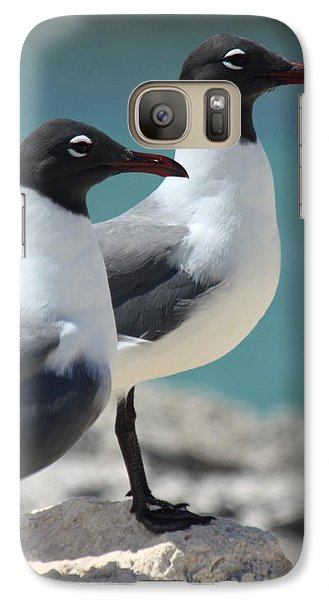 Galaxy Case featuring the photograph Twins by Patrick Witz