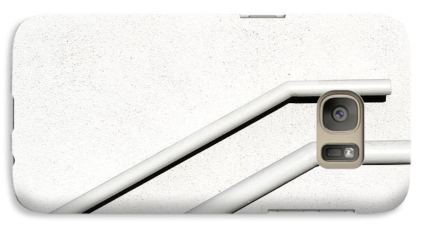 Galaxy Case featuring the photograph Two Rails by CML Brown