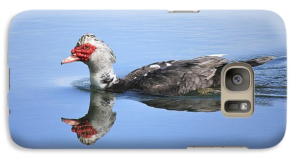 Galaxy Case featuring the photograph Ugly Duckling by Penny Meyers