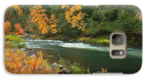 Galaxy Case featuring the photograph Umpqua In The Fall by Tyra  OBryant