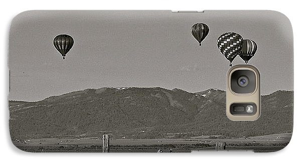 Galaxy Case featuring the photograph Unconcerned Lamas by Eric Tressler