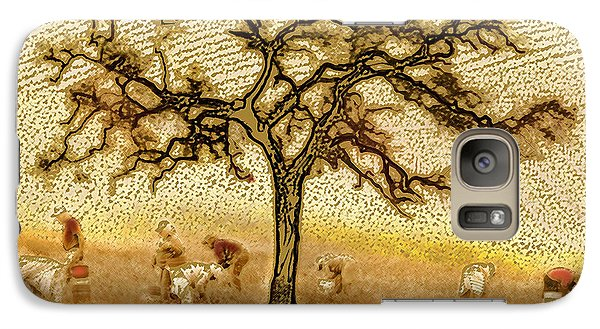 Galaxy Case featuring the digital art Under The California Sun by Artist and Photographer Laura Wrede
