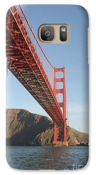 Galaxy Case featuring the photograph Under The Gate by Mitch Shindelbower
