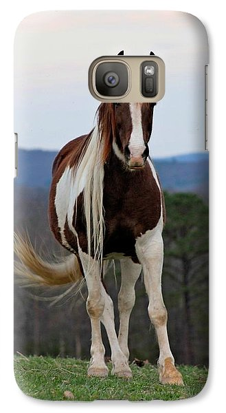 Galaxy Case featuring the photograph Untouchable by Laurinda Bowling