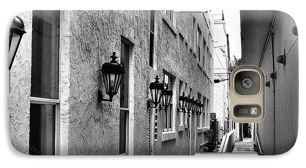 Galaxy Case featuring the photograph Up An Alley by Bob Wall
