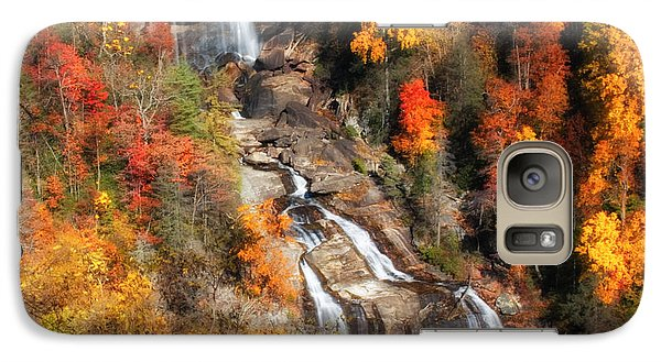 Galaxy Case featuring the photograph Upper Whitewater Falls by Lynne Jenkins