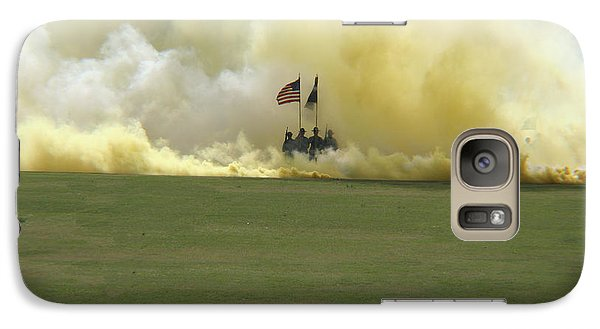 Galaxy Case featuring the photograph Us Army Graduation by Michael Waters