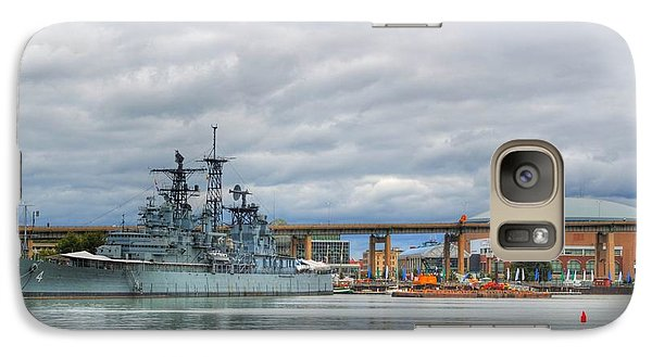 Galaxy Case featuring the photograph Uss Little Rock by Michael Frank Jr