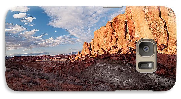Galaxy Case featuring the photograph Valley Of Fire by Art Whitton