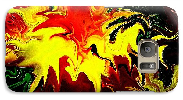 Galaxy Case featuring the photograph Van Gogh Lily by Greg Moores