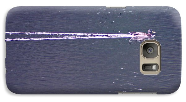 Galaxy Case featuring the photograph Vapor Trail by Cindy Lee Longhini