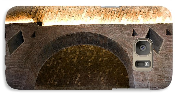 Galaxy Case featuring the photograph Vaulted Brick Arches by Lynn Palmer