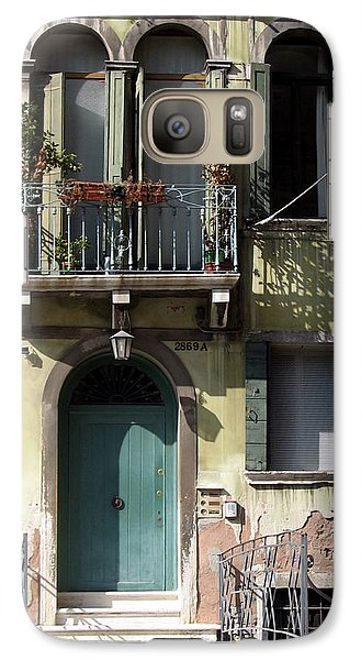 Galaxy Case featuring the photograph Venetian Doorway by Carla Parris