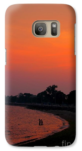 Galaxy Case featuring the photograph Vibes Beach by Jesse Ciazza