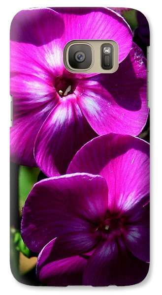 Galaxy Case featuring the photograph Vibrant by Karen Harrison