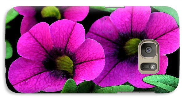 Galaxy Case featuring the painting Vibrant Pink by Karen Harrison