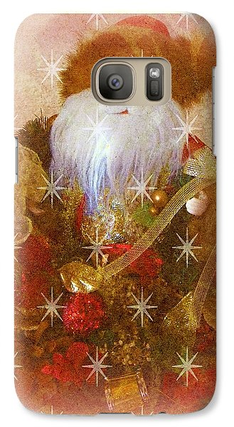 Galaxy Case featuring the photograph Victorian Santa by Michelle Frizzell-Thompson