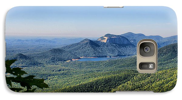 Galaxy Case featuring the photograph View From Caesar's Head by Lynne Jenkins