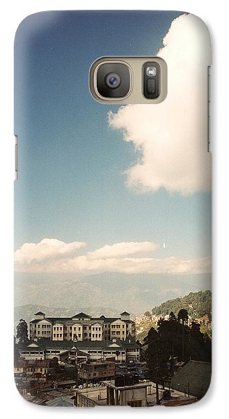 Galaxy Case featuring the photograph View From The Window by Fotosas Photography