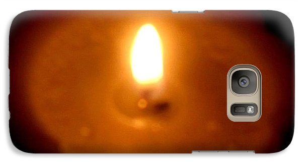 Galaxy Case featuring the photograph Vigil by Maria Urso