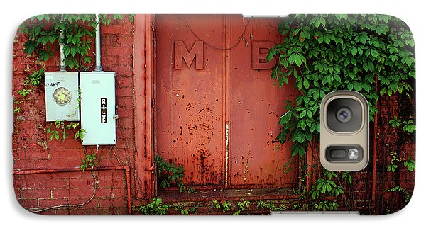 Galaxy Case featuring the photograph Vines Block The Door by Paul Mashburn