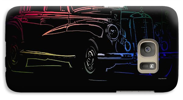 Galaxy Case featuring the photograph Vintage Mercedes by George Pedro