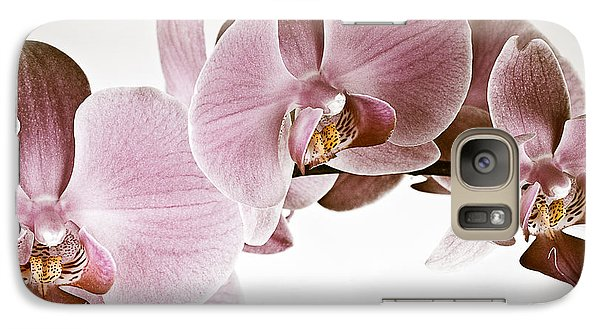 Vintage Orchid Galaxy S7 Case by  Onyonet  Photo Studios
