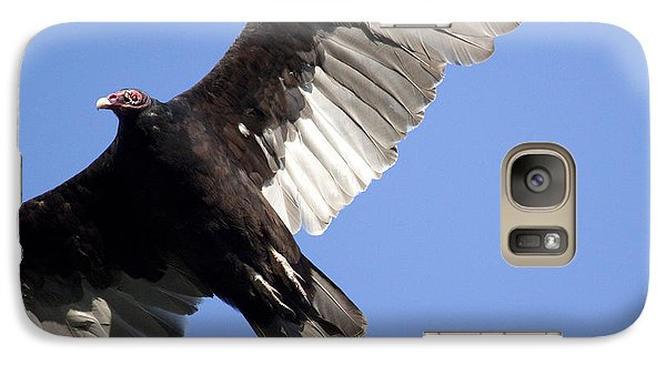 Galaxy Case featuring the photograph Vulture by Jeannette Hunt
