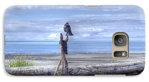 Galaxy Case featuring the photograph Waiting And Watching by Michele Cornelius