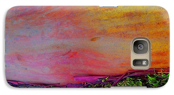 Galaxy Case featuring the digital art Walk Into The Future by Richard Laeton