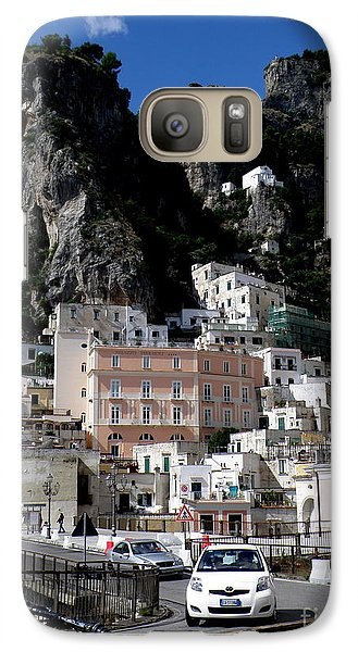 Galaxy Case featuring the photograph Walking Along The Amalfi Coast  3 by Tanya  Searcy