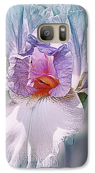 Galaxy Case featuring the digital art Warm Hearted by Mary Almond