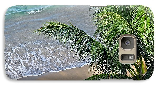 Galaxy Case featuring the photograph Warm Maui Waters Lapping Ashore by Kirsten Giving