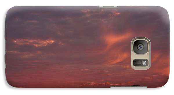 Galaxy Case featuring the photograph Warwickshire Sunset by Linsey Williams