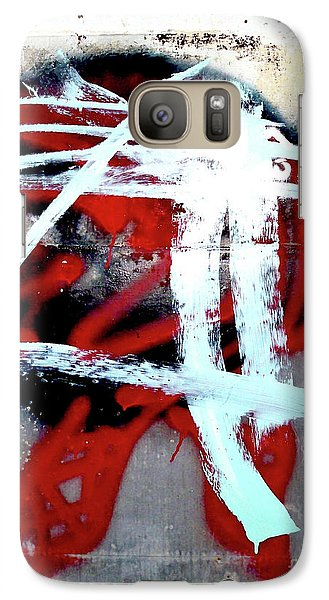 Galaxy Case featuring the photograph Was Here by Newel Hunter