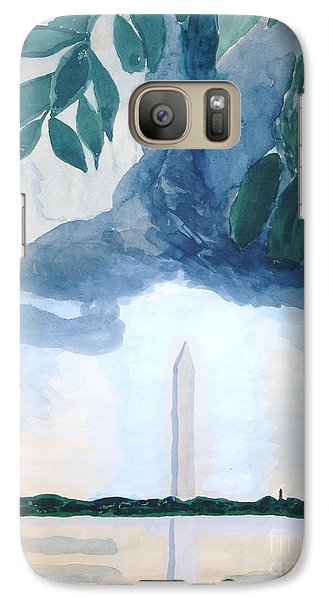 Washington Monument Galaxy S7 Case by Rod Ismay