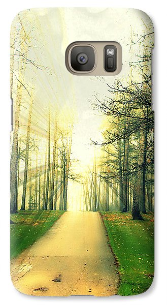 Galaxy Case featuring the photograph Watching Over Us by Mark J Seefeldt