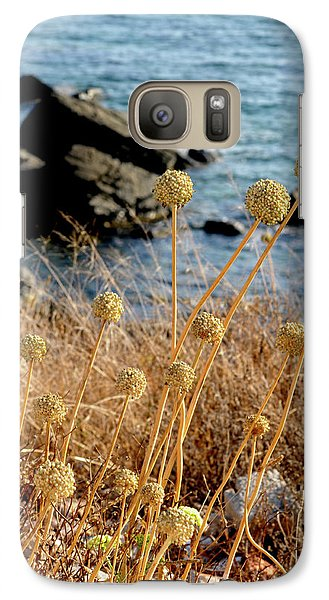 Galaxy Case featuring the photograph Watching The Sea 2 by Pedro Cardona
